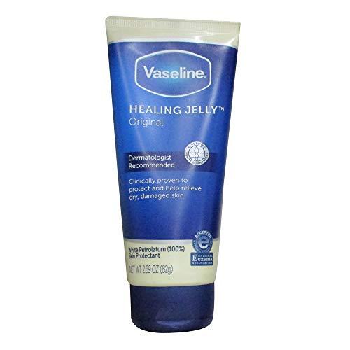 VASELINE Healing Jelly Original Tube, 2.89 Oz (2 Pack)