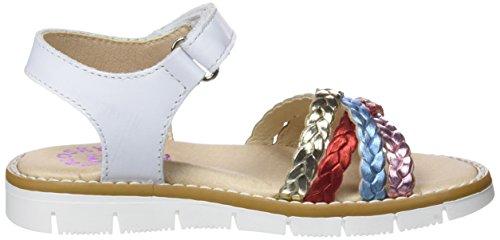 Sandales 452100 Fille Bout Varios Multicolore Colores Pablosky Ouvert 452100 xwqTv5Tf