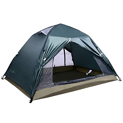 Sowin Instant Screen House Tent 2 Person Portable Automatic Mesh Sun Shelter Lightweight Screen Pop-up Camping Tent for Outdoor Picnics Hiking Fishing Backpacking with Waterproof Rainfly and Carry Bag