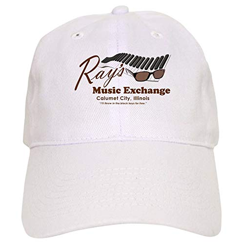 CafePress Ray's Music Exchange Baseball Cap with Adjustable Closure, Unique Printed Baseball Hat -