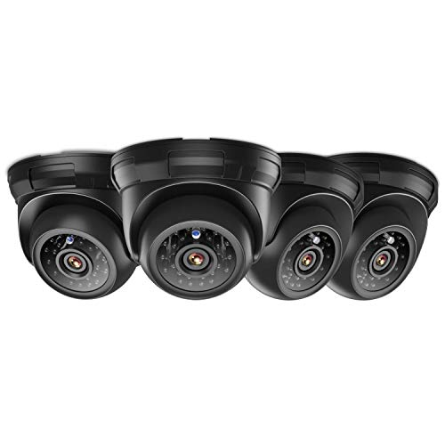 ANNKE 4-Packed HD-TVI 720P Home Security Surveillance Camera