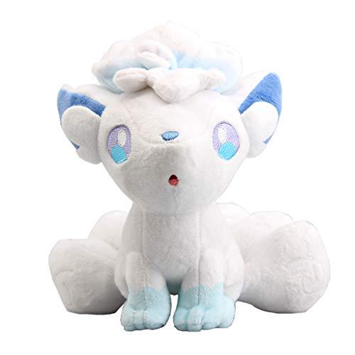 uiuoutoy Alolan Vulpix Plush Poke Sun & Moon Stuffed Toy 8'' ()