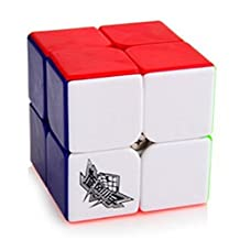 MeMeDa 50mm Cyclone Boys Speed Cube 2x2x2 Stickerless Magic Cube Puzzles Colorful