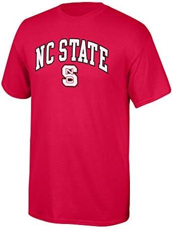 Elite Fan Shop NCAA Team Farbe Arch T Shirt, Herren, NCAA T Shirt Team Color Arch, True Red, X-Large