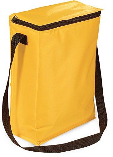 CiEsseCi - Bolso al hombro para hombre Negro negro amarillo