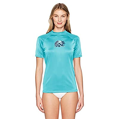 Kanu Surf Women's Breeze UPF 50+ Short Sleeved Active Rashguard & Workout Top at Women's Clothing store
