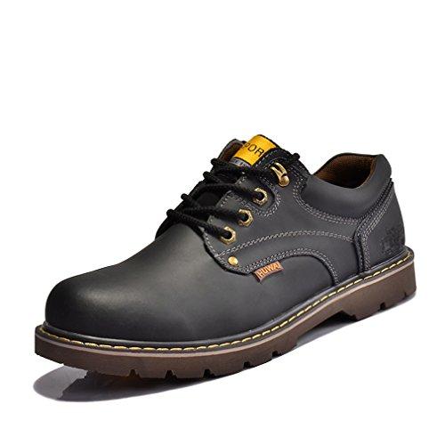 [QIFENGDIANZI] カジュアルシューズ メンズ デッキシューズ ローカット スリッポン アウトドア ウォーキングシューズ 通気性抜群 紳士靴 シューズ 軽量 レースアップ フラット 耐久性 オシャレ 4色