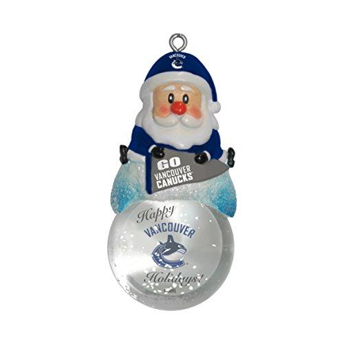 NHL Vancouver Canucks Snow Globe Ornament