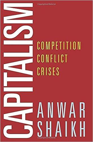 amazon capitalism competition conflict crises anwar shaikh