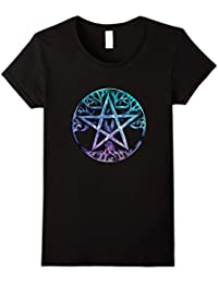 Tree Of Life Pentagram Shirt : Wiccan Pagan Wicca Goddess