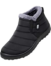 Winter Snow Boots for Women Waterproof Anti-Skid House...