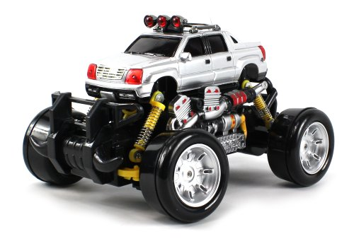 Cadillac Escalade EXT Electric RC Drift Truck 1:18 Scale 4 Wheel Drive Ready To Run RTR, Working Spring Suspension, Perform Various Drifts (Colors May Vary)