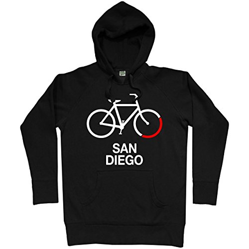 Smash Transit Men's Bike San Diego Hoodie - Black, X-Large