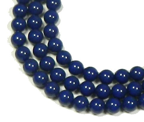 100 Swarovski Crystal Pearls 6mm Round Beads (5810). 24 Inch Loose Strand (Dark - Swarovski Beads Crystal Parts