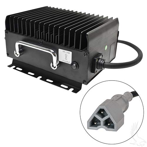 RHOX Admiral Waterproof Golf Cart Charger - EZGO TXT/RXV 3 Pin 48 Volt 11 Amp by RHOX (Image #2)