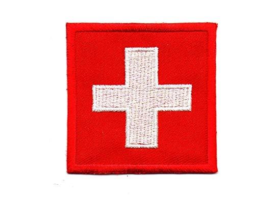 Medic First Aid Nurse Doctor Emergency Logo Patch