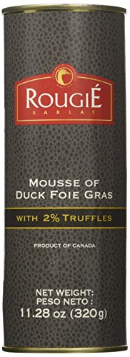 Rougie Mousse of Duck Foie Gras with Truffle, 11.2-Ounce Tin ()