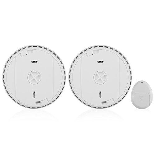 Smartwares RM175RF/2 Detector de Humo, 85 dB, conectable, Mando a Distancia Set de 2 Piezas: Amazon.es: Bricolaje y herramientas