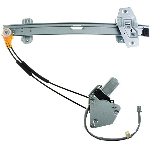 New Window Regulator W/Motor Front Drivers Side Left LH For 1997 1998 1999 Acura CL 741-566, 660228, 11A181, 72250-SV2-003 ()