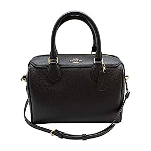 COACH Cross Grain Mini Bennett Satchel