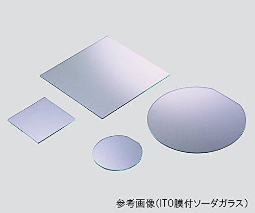 3-4998-07ダミーガラス基板ITO膜付ソーダガラス200×200mm10枚入 B07BDQ5L7C