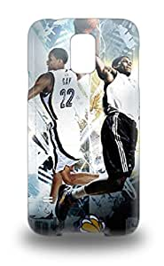 Protection Case For Galaxy S5 Case Cover For Galaxy NBA Sacramento Kings Rudy Gay #8