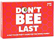 Don't BEE Last - Family Games - A Party Game for Adults, Teens &