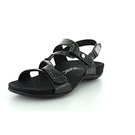Vionic Womens Rest Paros Open Toe Casual Slingback Sandals