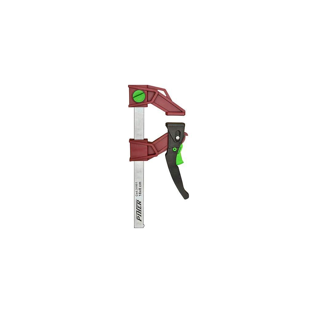 Piher 30903 Piher 30 cm Presse l/ég/ère /à serrage rapide r/éversible 120 Kg saillie 8 cm x L