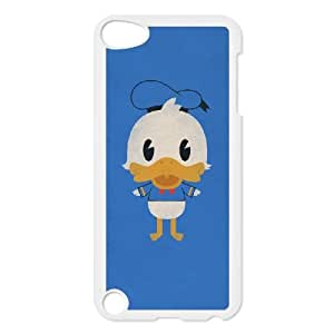 iPod Touch 5 Case White Donald Duck 001 Special gift AJ878464