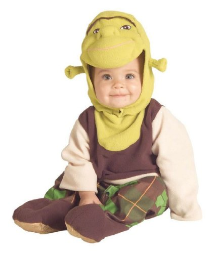 [Shrek Romper And Headpiece Shrek, 6-12 Months] (Third Leg Costume)