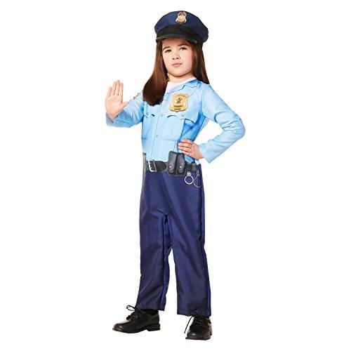 Police Officer 18-24 Months Costume Halloween Dress Up Cute Toddler Policeman (Toddler Policeman Costume)
