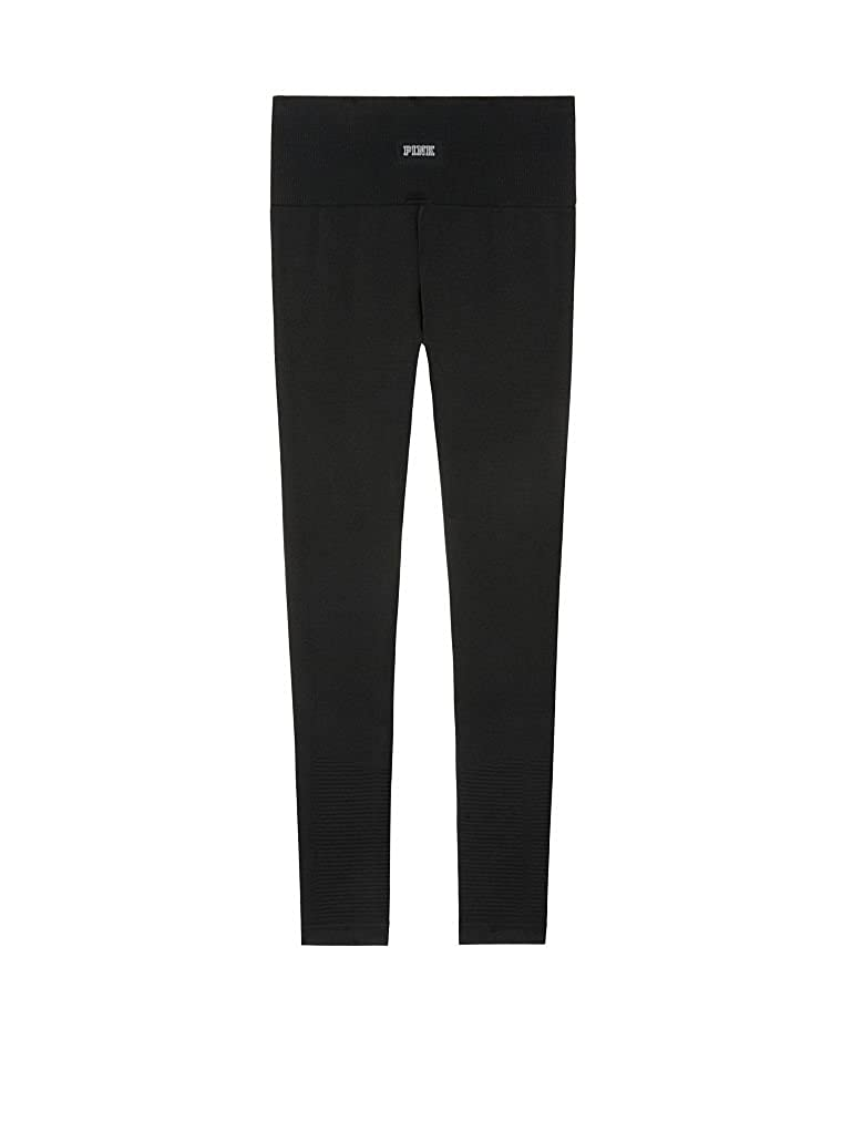 70a53d0317a41e Victoria 's Secret Pink New! Ultimate Cool & Comfy Moto Tight Pure Black at  Amazon Women's Clothing store: