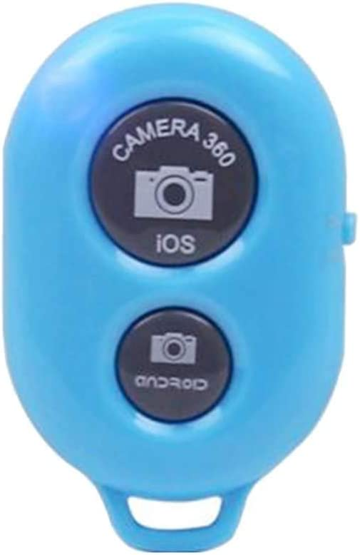 Uzinb Tel/éfono Bluetooth Temporizador Selfie bot/ón del palillo del Obturador de Control Remoto inal/ámbrico de Lanzamiento M/óvil