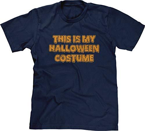 (Blittzen Mens This is My Halloween Costume - Funny, 2XL, Navy)