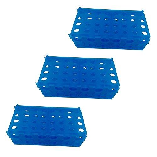 4-Way Micro Tube Rack for 0.5ml, 1.5ml, 15ml, 50ml centrifuge tube, Pack of -