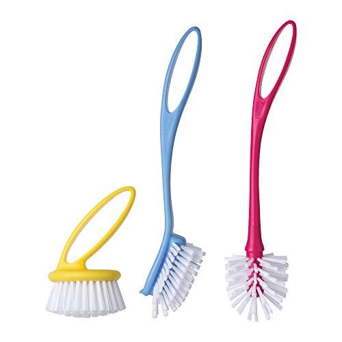 Casabella Loop 3-Piece Dish Brush Set