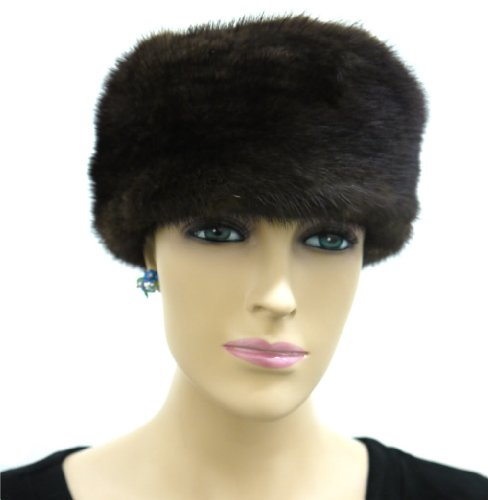 100% Mink Full Fur Multi-Fuction Neck Warmer/Headband - Ranch by Hima