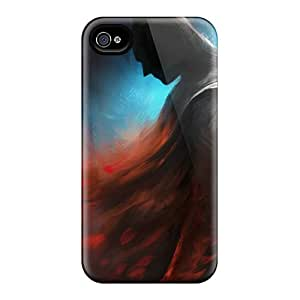 Hot JHY2366dsRS Case Cover Protector For Iphone 4/4s- Batman Red