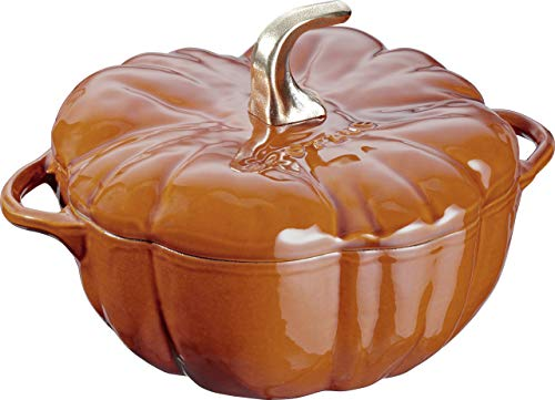 ( Staub 11124806Pumpkin Cocotte Oven, 3.5Quart, Burnt Orange/Cinnamon [parallel import goods] )