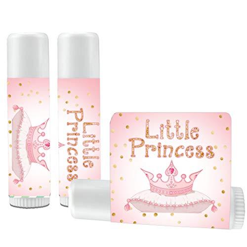 (12 Little Princess Lip Balms - Princess Baby Shower - Princess Party - Princess 1st Birthday - Princess Party)