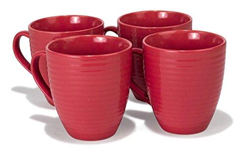18 oz coffee mug set - 3