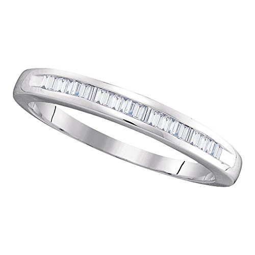 0.25ctw Baguette Cut Diamond Wedding Band by TheJewelryMaster