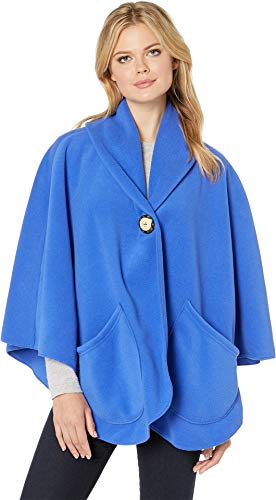 (Janska Clothing that Comforts Women's Pocket Cape Cobalt One Size)