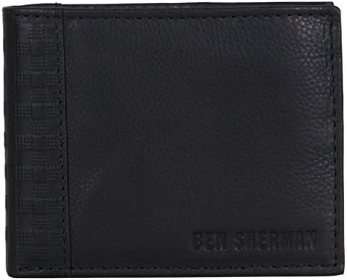 Ben Sherman Leather Bi fold Passcase