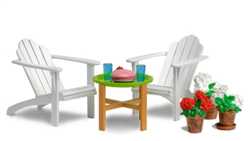 Lundby Smaland Dollhouse Garden Furniture Set