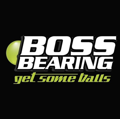 Boss Bearing Bottom End Bearings and Seals Kit 65-0030 Honda CR125 1996-2003 ()