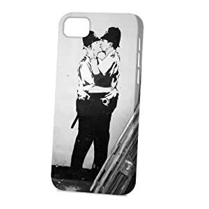 Case Fun For Ipod Touch 5 Case CoverVogue Version - 3D Full Wrap - Graffiti Police Kiss