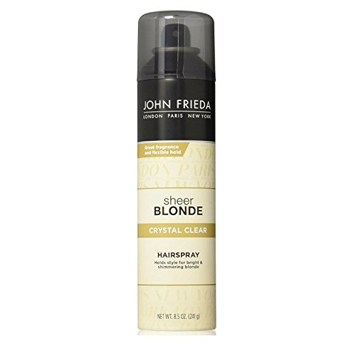 John Frieda Sheer Blonde Crystal Clear Hairspray 8.5 oz