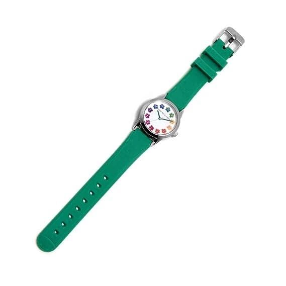Agatha Ruiz de la Prada Reloj para Niño Analógico Cuarzo japonés con Correa de Silicona AGR258: Amazon.es: Relojes